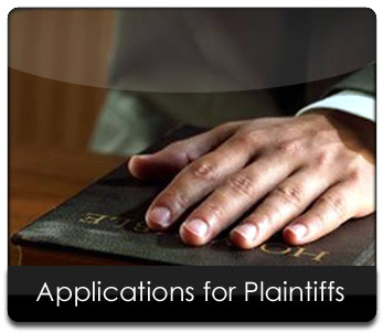 Application for Plaintiffs